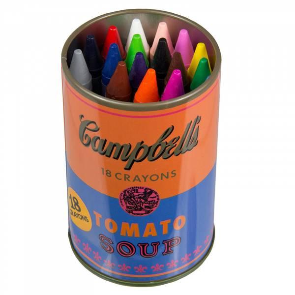 Bilde av Andy Warhol Soup Can Crayons