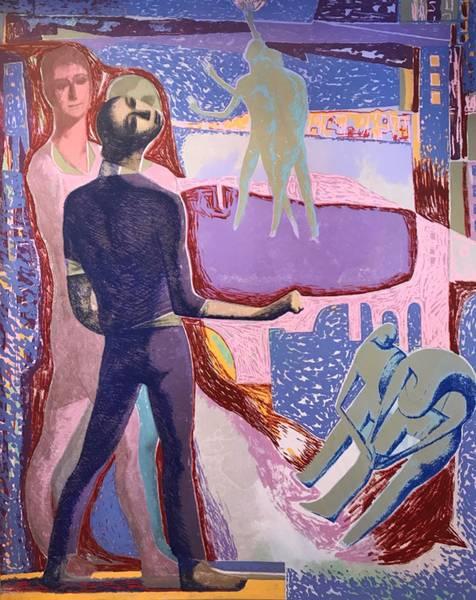 Bilde av Tre figurer i en revolusjon