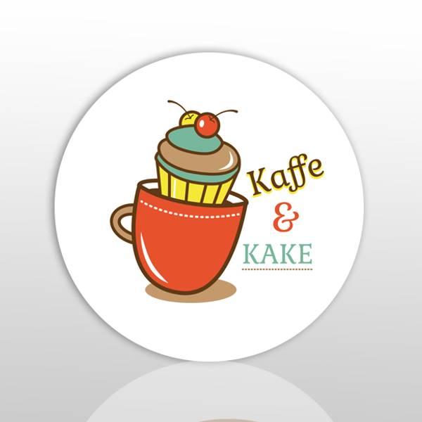 Bilde av Glassunderlag: Kaffe & kake
