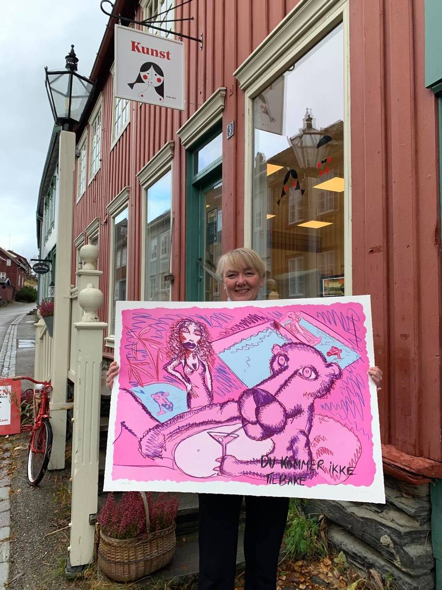 Pink Phanter / 368332               , Bjarne Melgaard
