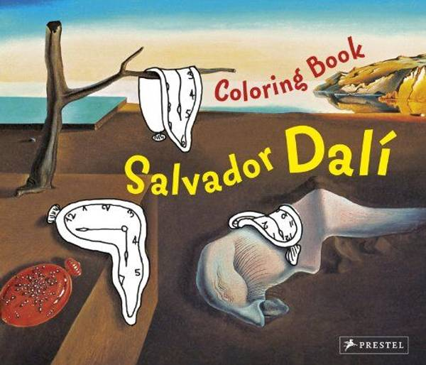 Bilde av Coloring Book Salvador Dali