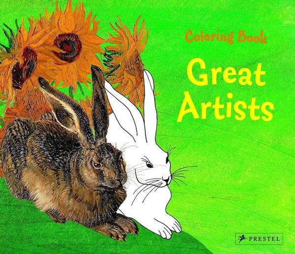 Bilde av Coloring Book Great Artists